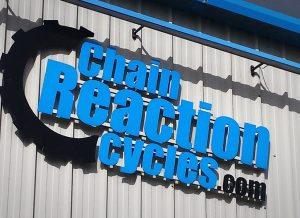 Chain Reaction Sign Design & Manufacture